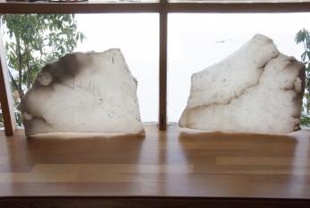 Alabaster slabs