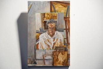 self portrait on small board 04